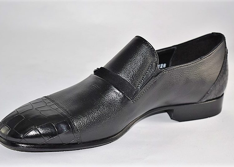 60397 mario bruni black leather italian dress shoe tmnewyork