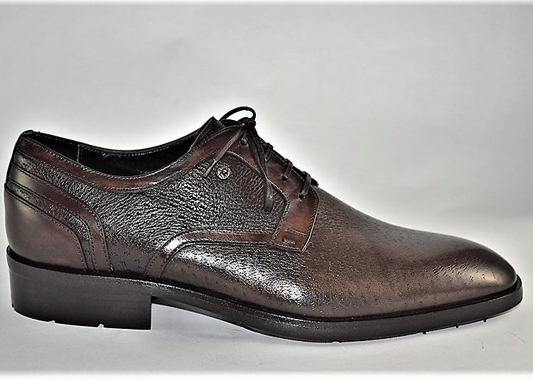 60277 mario bruni comfortable soft brown leather italian dress shoe